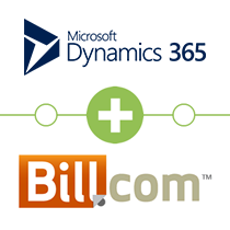 Microsoft Dynamics CRM to Bill.com