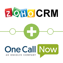 Zoho CRM to One Call Now